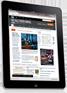 iPad eNewsletter for Ultratrust